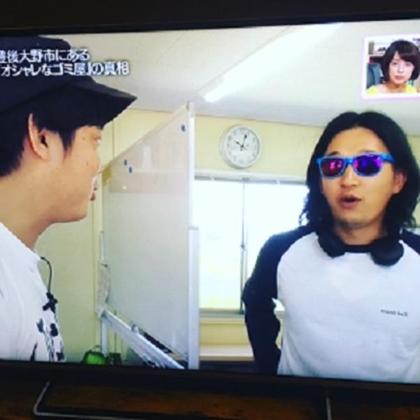OAB『JOKER DX』さんにTV取材を受けました。